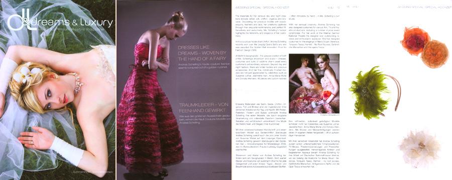 dreams&luxury, März 2010