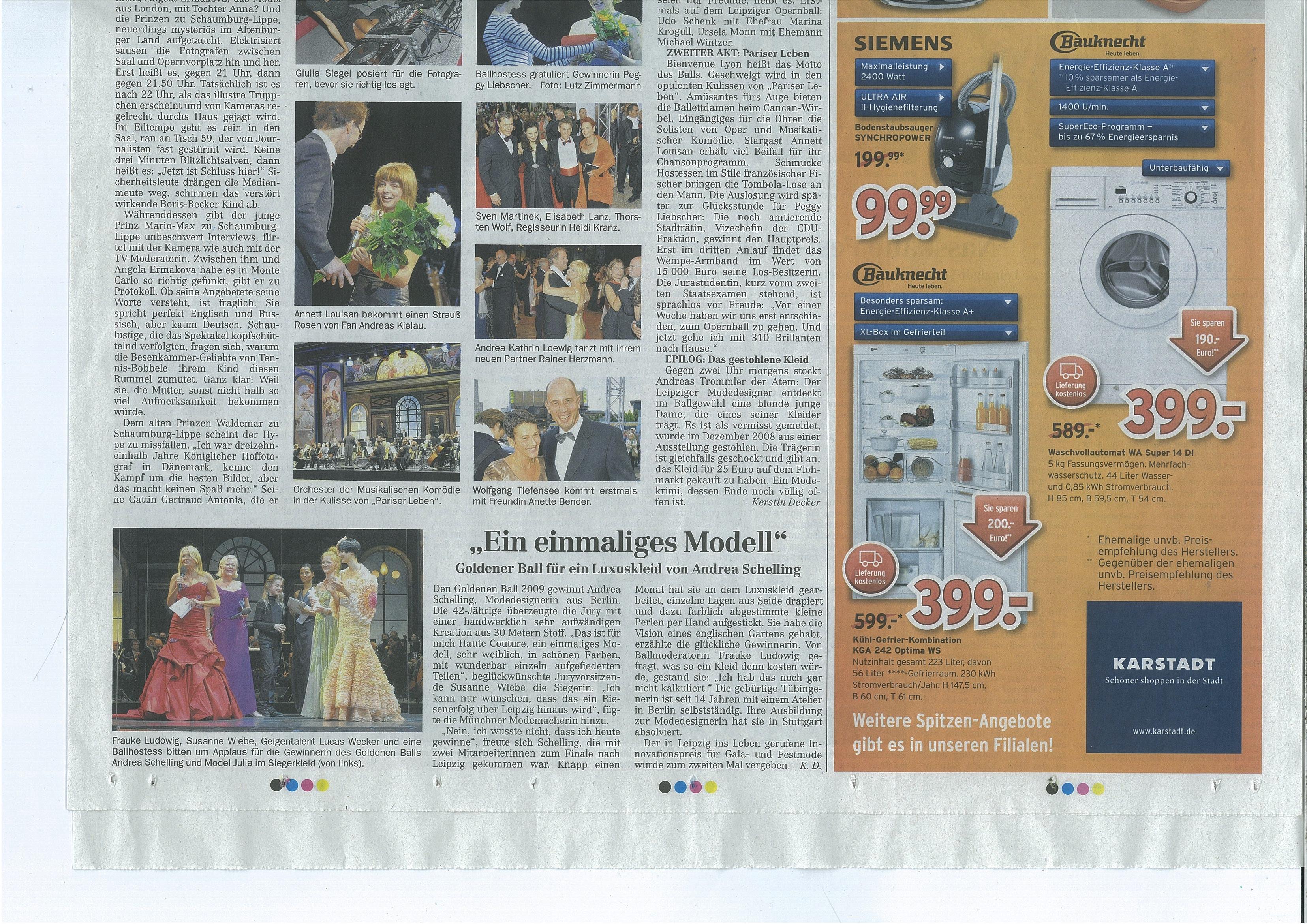 Leipziger Volkszeitung 7.9.09